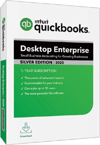 QuickBooks Enterprise Silver 2020 Manufacturing and Wholesale